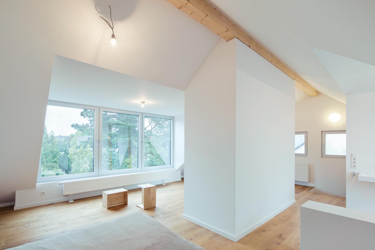 soll sasse architekten BDA, Umbau eines Hauses aus den 1950er Jahren, Köln 2014–2016, Foto: Claudia Dreyße