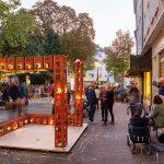 soll sasse architekten BDA, Temporäre Installationen auf dem Robert-Koch-Platz, Dortmund: Siebenundsechzig Fünzig, 2019, Foto: Claudia Dreyße