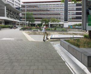 Benthemplein, Rotterdam, Niederlande, Fotos: Inga Bolik
