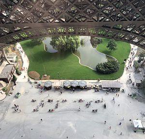 Christian Vogt, Les Jardins de la Tour Eiffel, Paris 2018, Foto: Christian Vogt