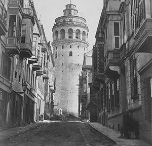 Galata, Istanbul, Foto (1865): Cornell University Library/Pascal Sébah (via Wikimedia/CC BY 2.0)