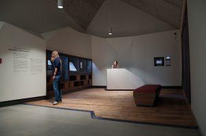 """Studio Neue Museen/molekyl Büro für Gestaltung, """"Ich bin ein Mansfeldisch Kind"""", Luthers Elternhaus, 2014, Foto: SNM"""