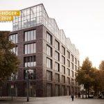 Kuehn Malvezzi, Gebäudeintegriertes Dachgewächshaus und Verwaltungsgebäude, Oberhausen 2019, Foto: Hiepler Brunier