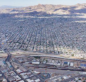 Iwan Baan, El Paso, Texas und Juarez, Chihuahua, 2018