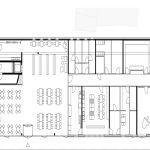 mrschmidt Architekten, Neubau Grundschule, Evangelische Schule Dettmannsdorf, Grundriss Erdgeschoss, Dettmannsdorf 2015–2017, Zeichnung: mrschmidt