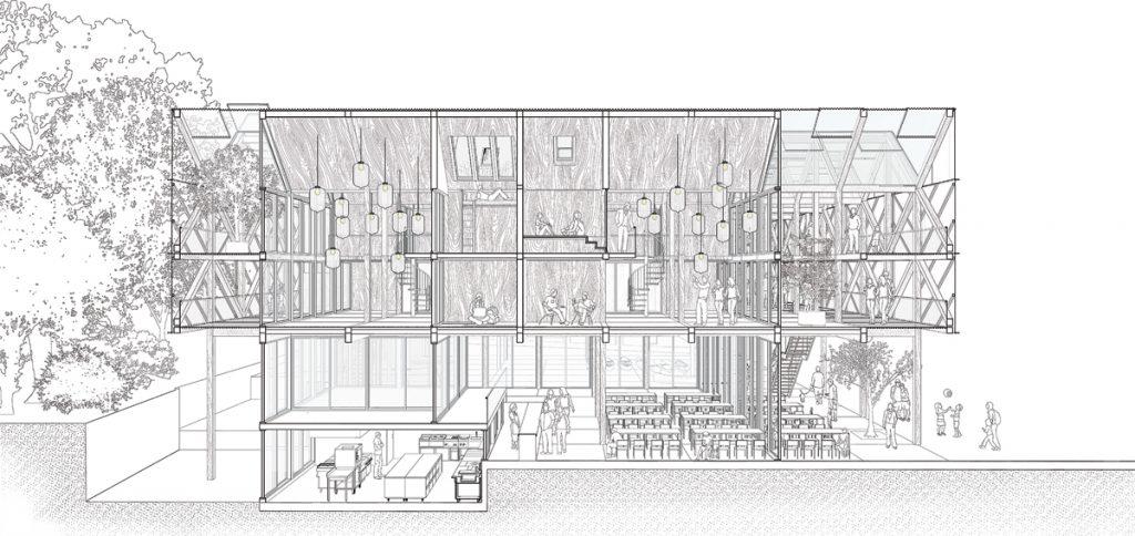 Fallstudie: Seesport und Erlebniszentrum, Visualisierung, Abb.: Hans Drexler