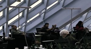 "Seattle Central Library (OMA / LMN, 1999-2004), Filmstills aus ""Public Library"", 2013: Cyril Schäublin"