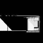 Atelier Kaiser Shen, Mikrohofhaus, Ludwigsburg 2017–2018, Schnitt