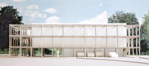 7 Atelier Kaiser Shen, Flüchtlingsheim Schönaich, seit 2019, Modellfoto: Nicolai Rapp